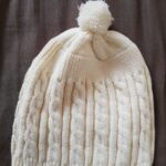 Baby Knitted Solid Long-sleeve Jumpsuit and A Pom-pom Design Hat photo review