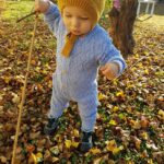 Comfy Solid Hollow Out Long-sleeve Jumpsuit Knit Jumpsuit for Baby photo review