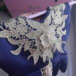 Baby / Toddler Girl Colorblock Lace Flower Sleeveless Irregular Hem Princess Party Dress photo review
