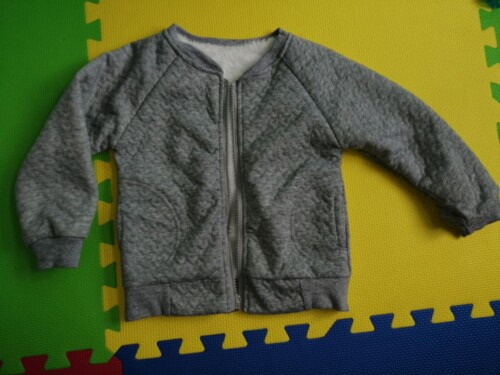 Baby / Toddler Boy Solid Berber Fleece Long-sleeve Coat photo review