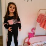 2-piece Baby / Toddler Girl Splice Colorblock Leopard Print Long-sleeve Pullover and Pants Set photo review