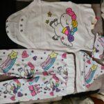 3-piece Unicorn Print Top and Pants Set photo review