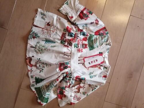 Baby Girl Elk Sweet Dress photo review