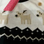 Baby Christmas Elk Knitted Jumpsuits photo review