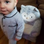 Baby Boy / Girl Newborn Cotton Solid Polo Collar Cardigan Pocket Design Long-sleeve Jumpsuit photo review