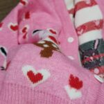 Baby / Toddler Girl Sweet Bunny Print Warm Knitwear photo review
