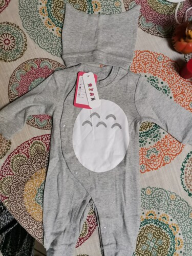 2-piece Baby Animal Jumpsuit with Hat photo review