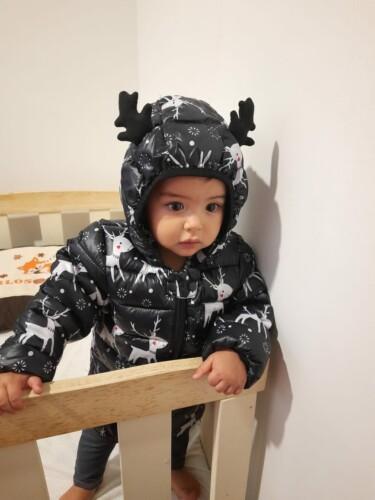 Baby Unisex Elk Coat & Jacket photo review