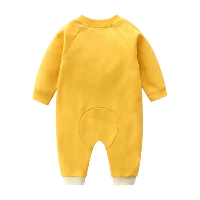 Autumn Baby Boy Long Sleeve Bodysuit Egg Style