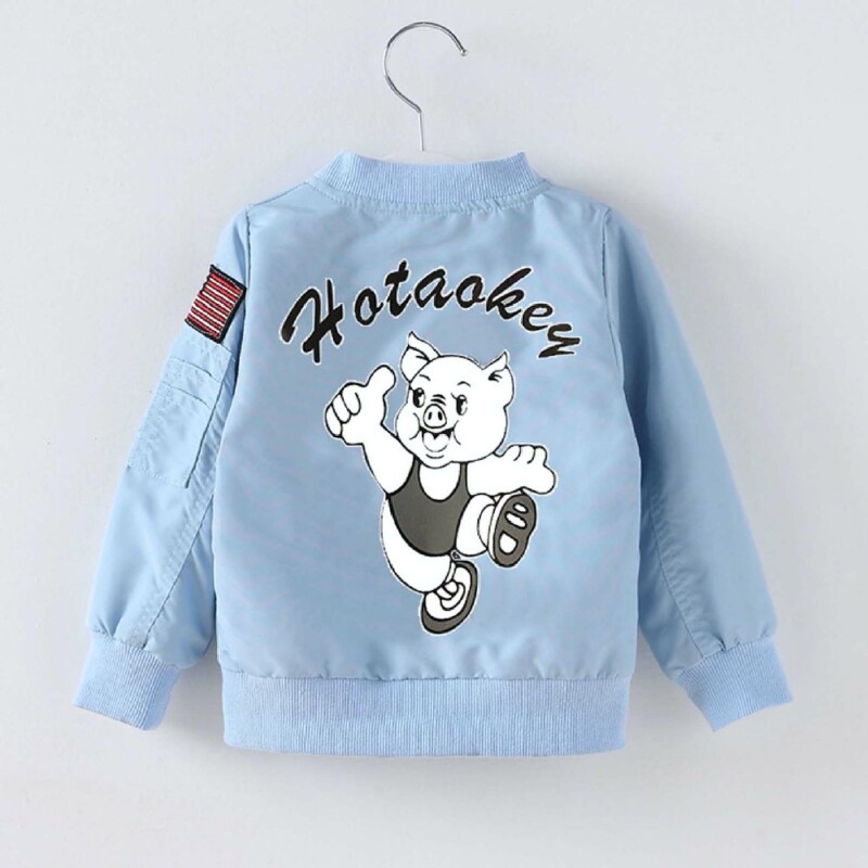 Autumn and winter Baby Toddler Kid boys and girls jacket (piggy pattern)