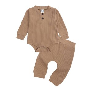 Baby boys and girls open crotch pants (solid color)