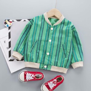 Baby Toddler Kid Boys Jackets (Vertical Stripes Style)