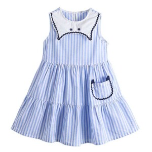 Kid girl dress (sleeveless princess dress style)