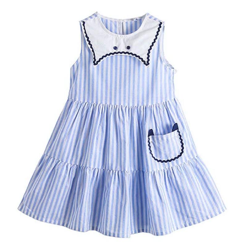 Kid girl dress (sleeveless princess dress style)
