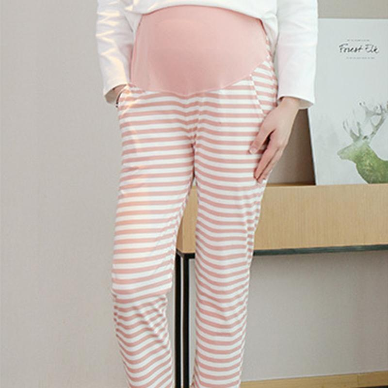Pure Cotton High Waist Belly Lift Pants for Maternity
