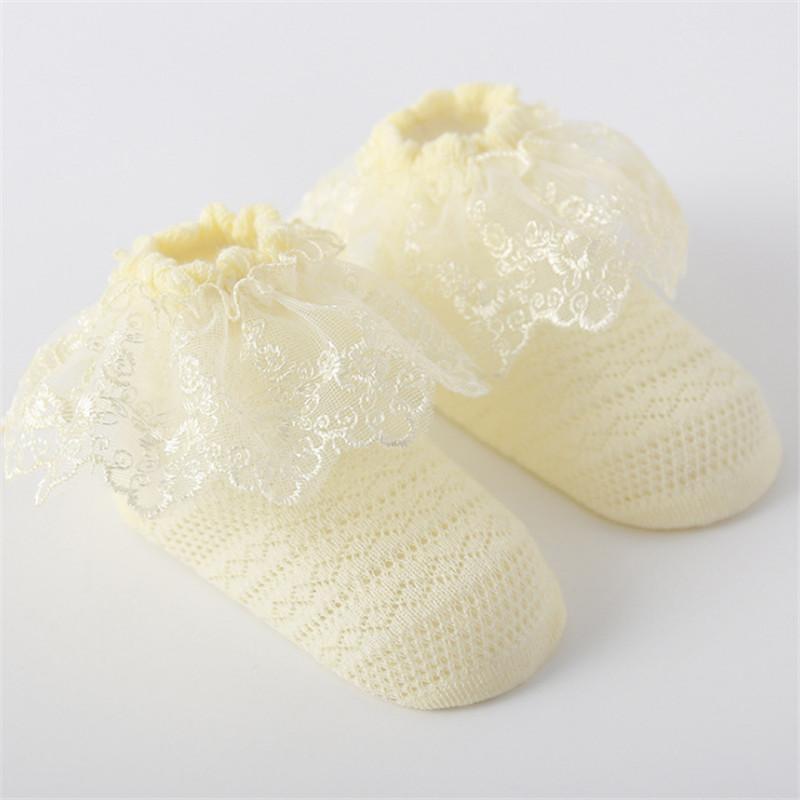 Sweet Cozy Cotton Lace Socks