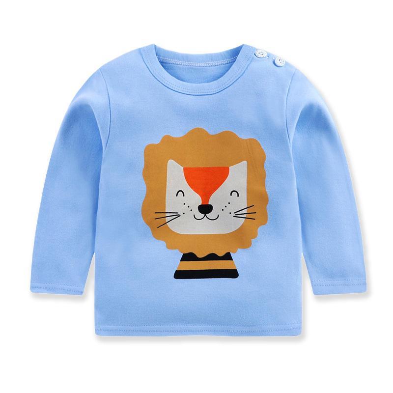 Panda Pattern Long Sleeve T-shirt for Toddler Boy