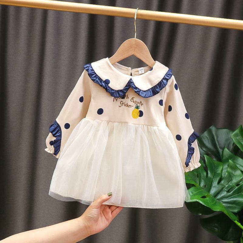 Polka Dot Tulle Dress for Toddler Girl