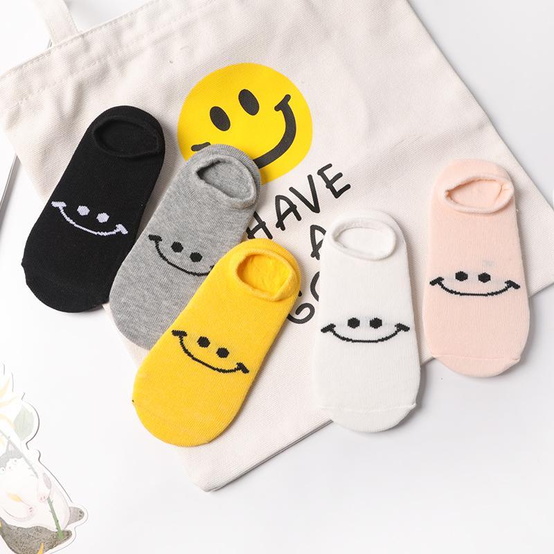5-piece Low Cut Socks