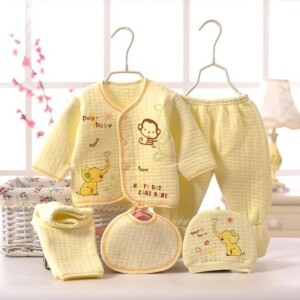 Newborn Clothes Sets Gift Box 100% Cotton Infantil Outfit