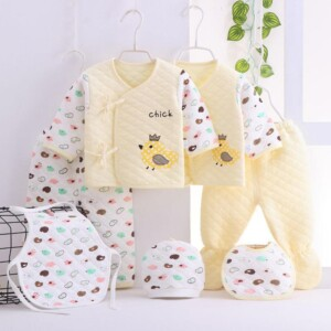 Newborn Clothes Sets 0-3Months Gift Box 100% Cotton Cartoon Underwear Infantil Outfit