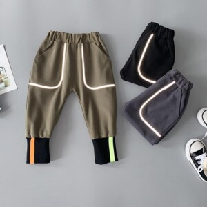 Solid Knit Pants for Toddler Boy