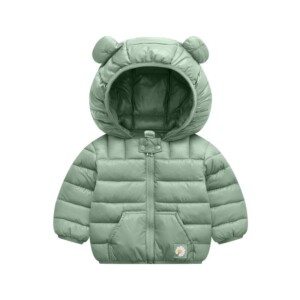 Cute Solid Cotton-padded Coat Wadded Jacket