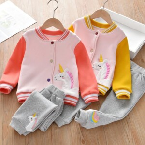 2-piece Coat & Pants for Toddler Girl