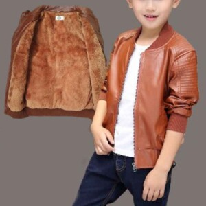 Fleece-lined Jacket for Boy