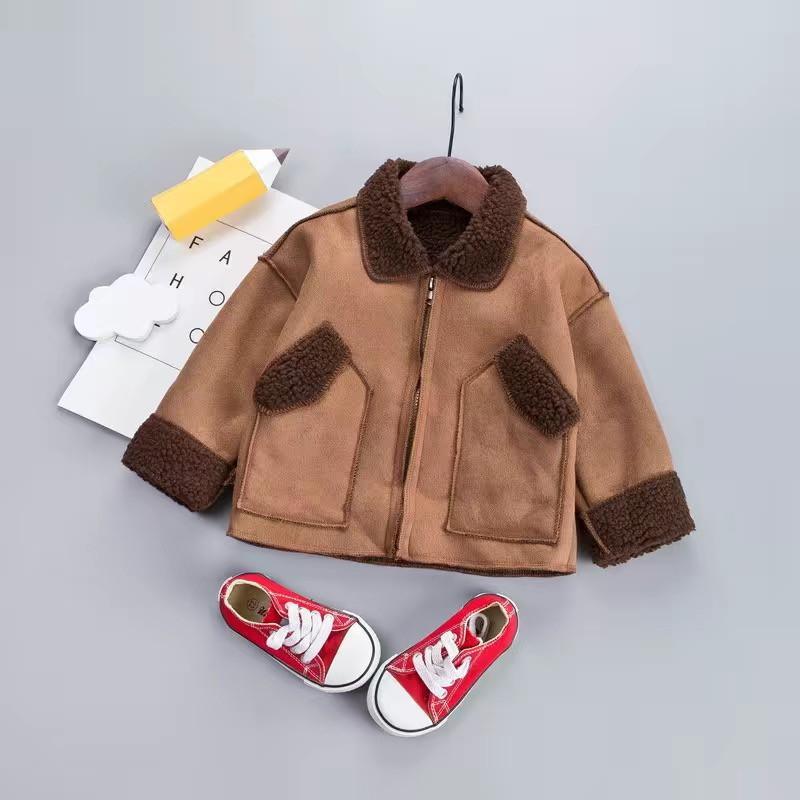 Fleece-lined Coat for Toddler Boy