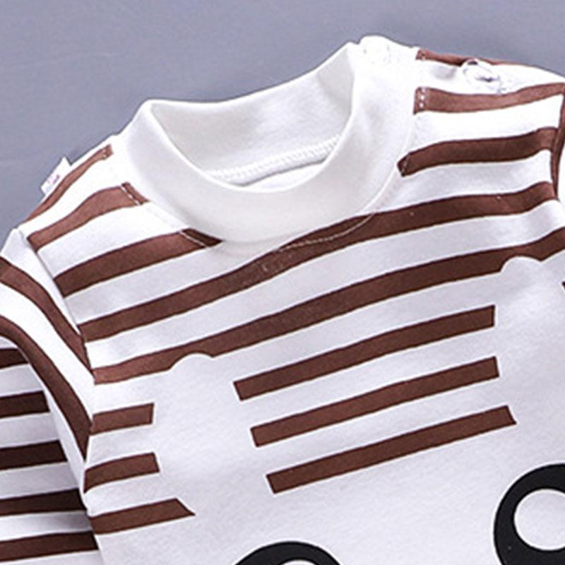 2-piece Stripes Pajamas & Pants for Toddler Boy