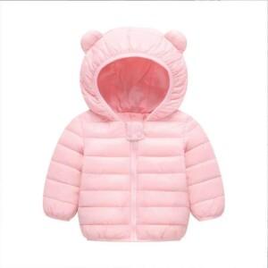 Ear hat Puffer Jacket for Toddler Girl