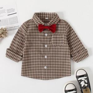 Plaid Shirt for Toddler Boy