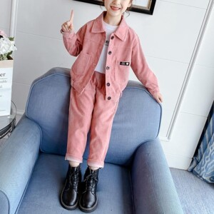 2-piece Extra Thick Coat & Extra Thick Pants for Girl