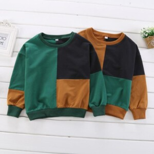 Color-block Sweater for Boy