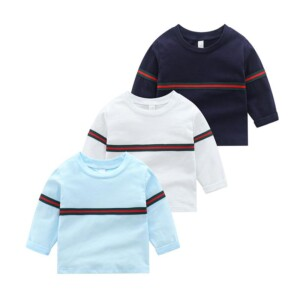 Striped Long Sleeve T-shirt for Toddler Boy