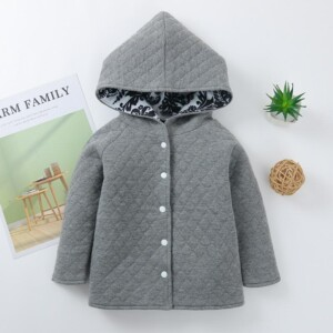 Floral Pattern Coat for Baby
