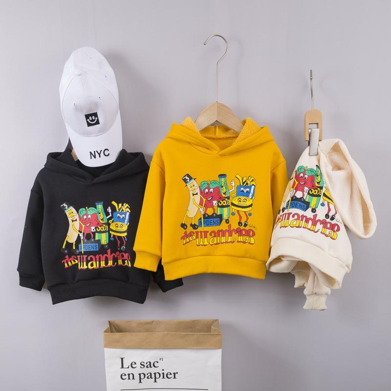 Cartoon Pattern Sweatshirts for Toddler Boy