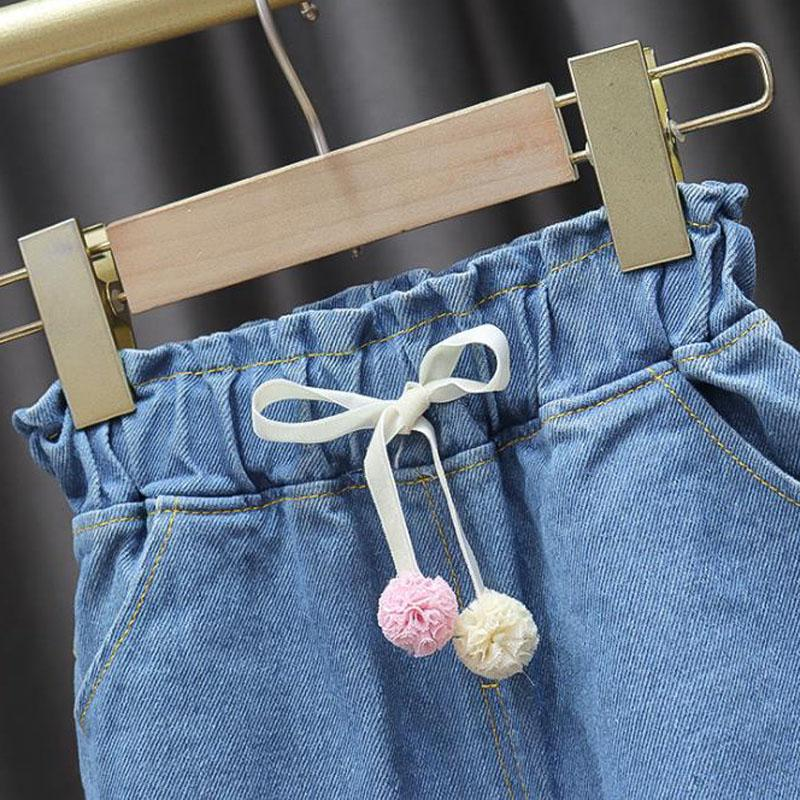 Colored balls jeans for Toddler Girl