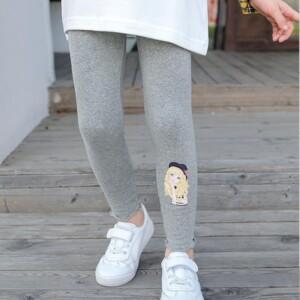 Fleece-lined Leggings Boot Pants for Girl