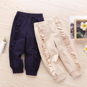 Laciness Knit Pants for Toddler Girl
