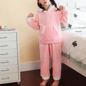 2-piece Rabbit Design Pajamas Sets for Girl