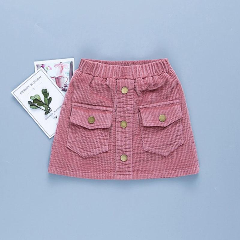 Solid Skirts for Girl