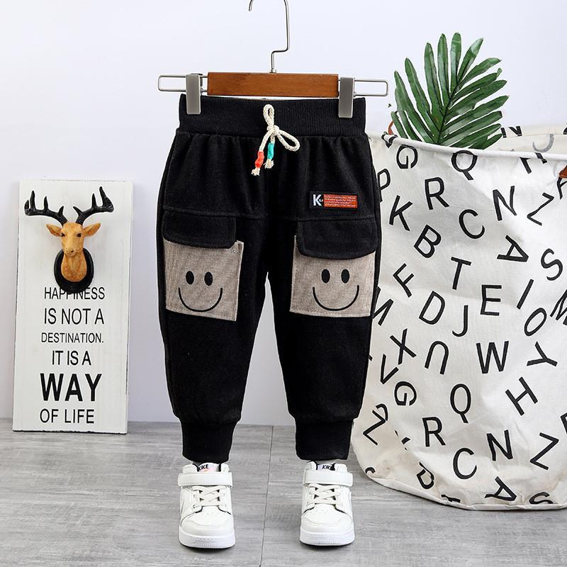 Cartoon Design Knit Pants for Toddler Boy