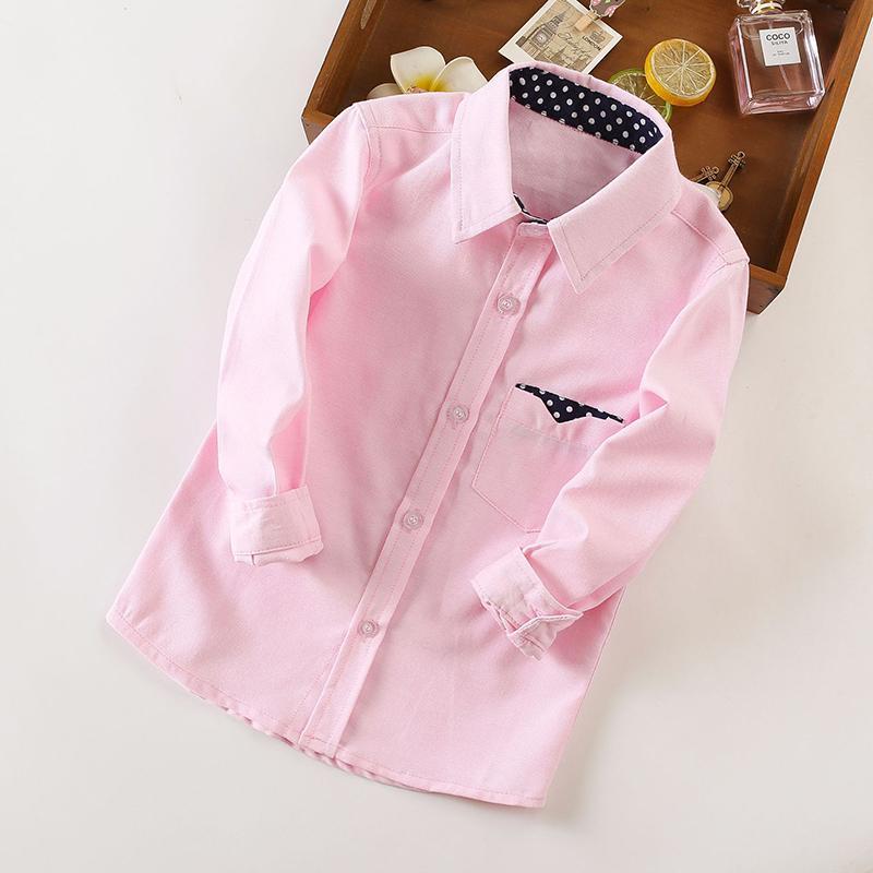 Polka Dot Pattern Long sleeve shirt for Boy