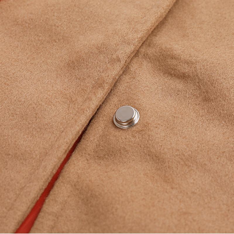 Heart-shaped Pattern Duffle Coat for Girl