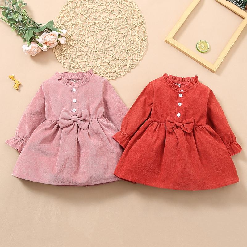 Bow Dress for Toddler Baby