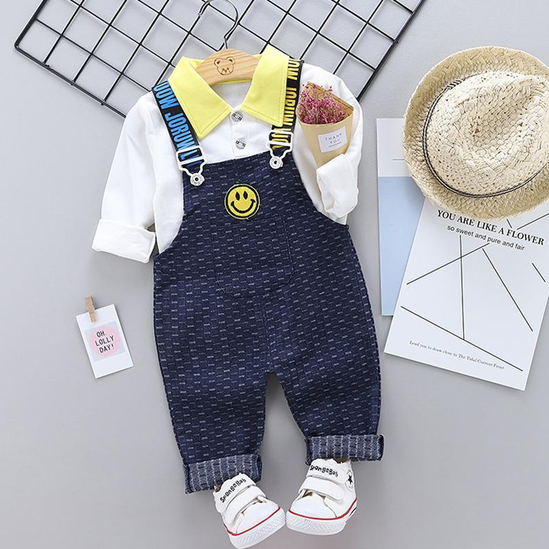 2-piece Color-block Pattern Suit for Toddler Girl