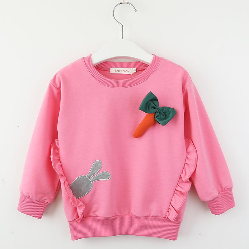 Rabbit Pattern Sweatshirts for Toddler Girl