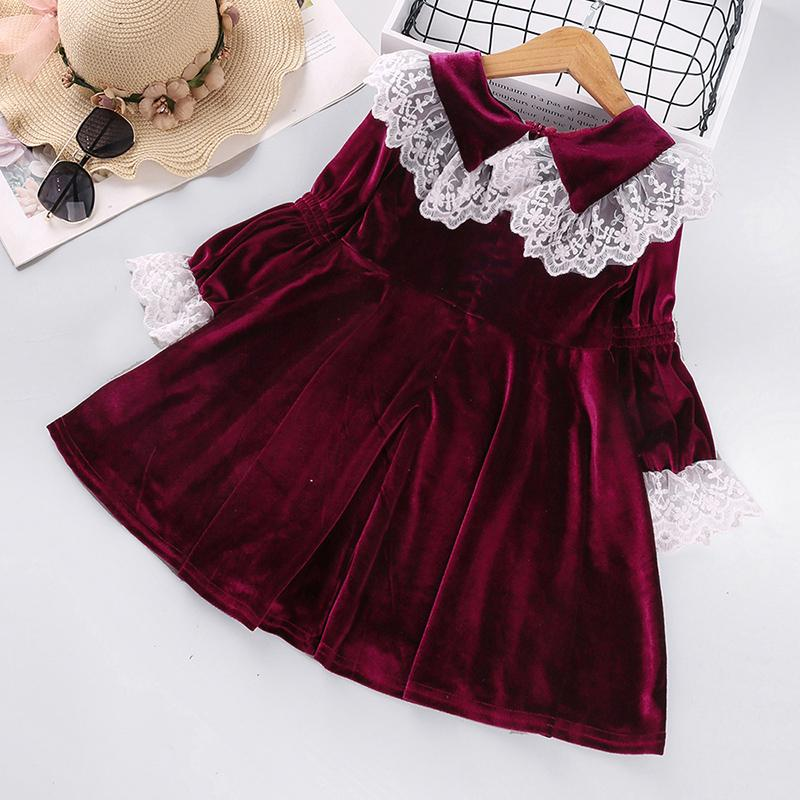 Sweet Lace Dress for Toddler Girl